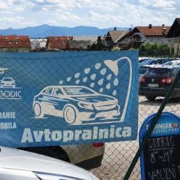 Parking Jagodic - Parking Letališče Brnik - čiščenje vozila