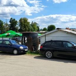 Parking Jagodic - Parking Letališče Brnik